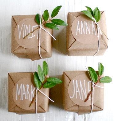 Creative Christmas Gift Wrapping