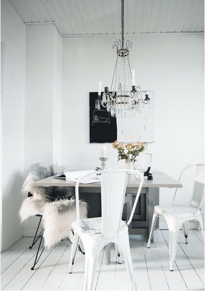 white on white interiors